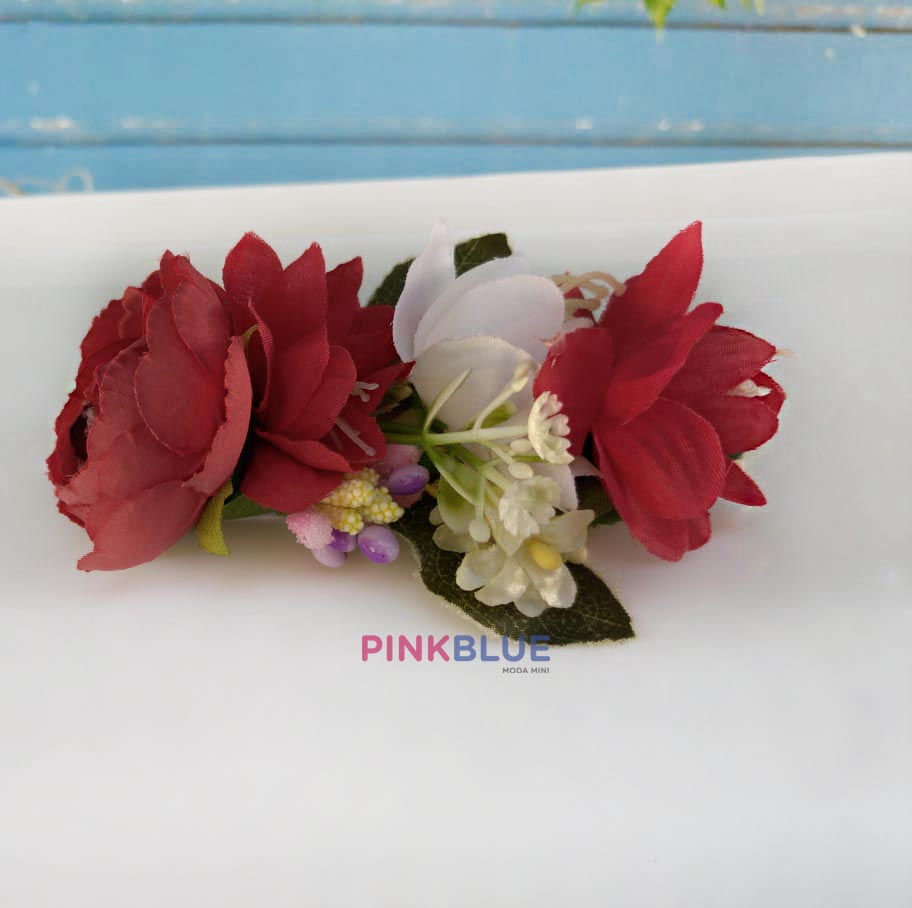 Faixa flores tons