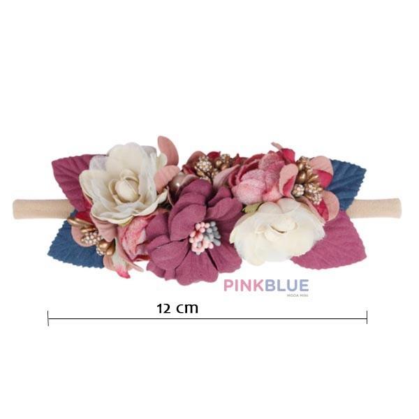 Faixa laço flores