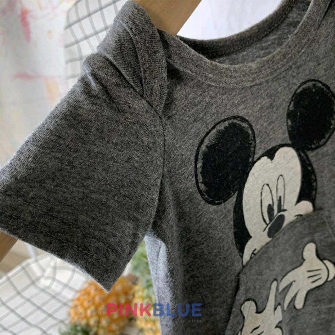 Macacão manga curta Disney Mickey