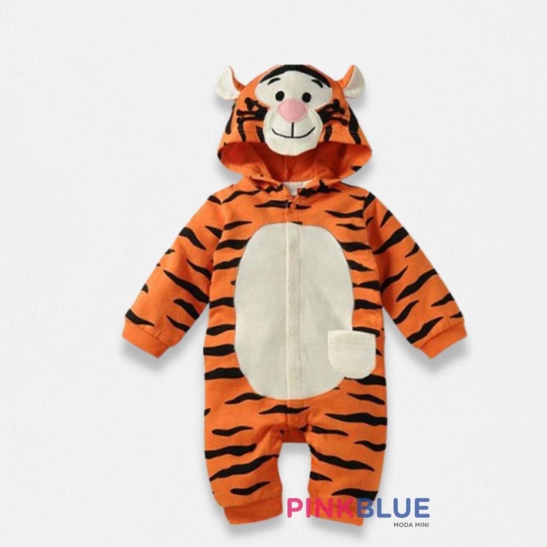 Macacão Disney Tigrao e Pooh longo