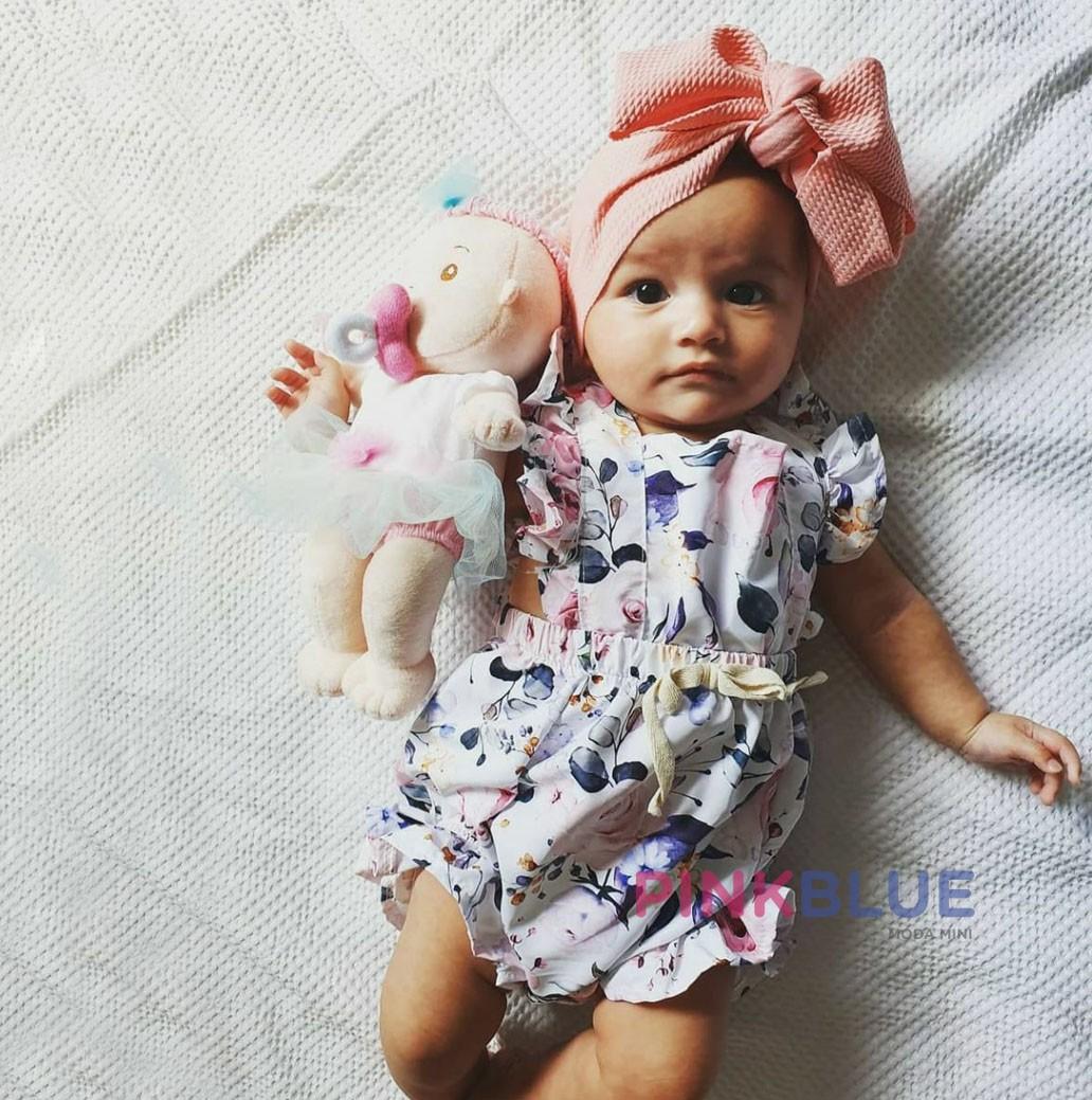 Macaquinho floral Sophie