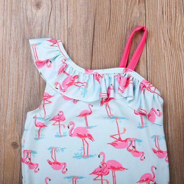 Maiô flamingo