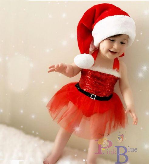 Romper bebê Noel com tutu