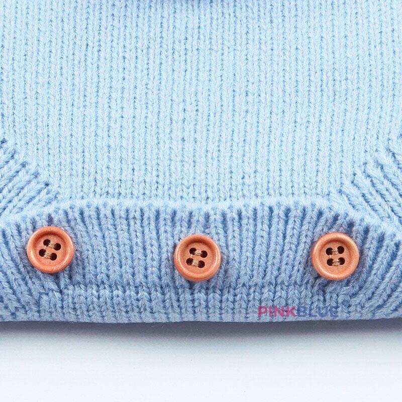 Romper em tricot coelhinho