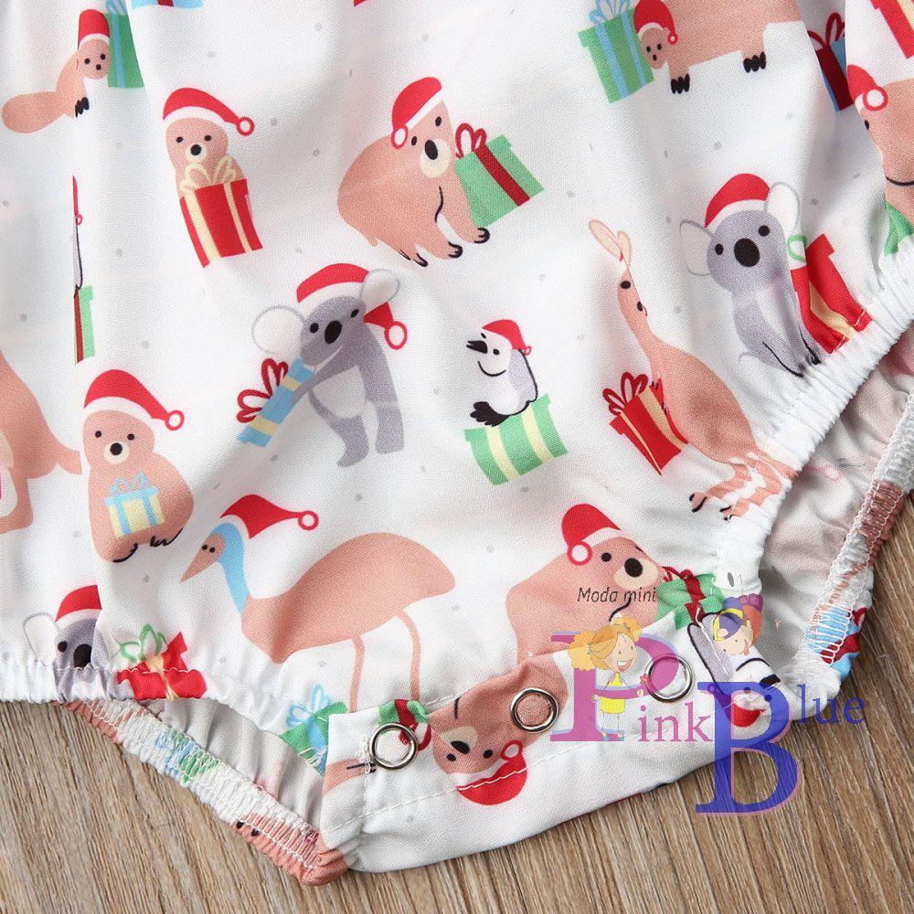 Romper Natal ursinhos com faixa