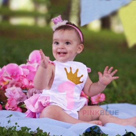 Romper princess 1 ano