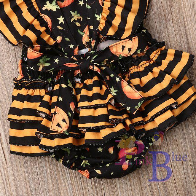 Romper pumpkin