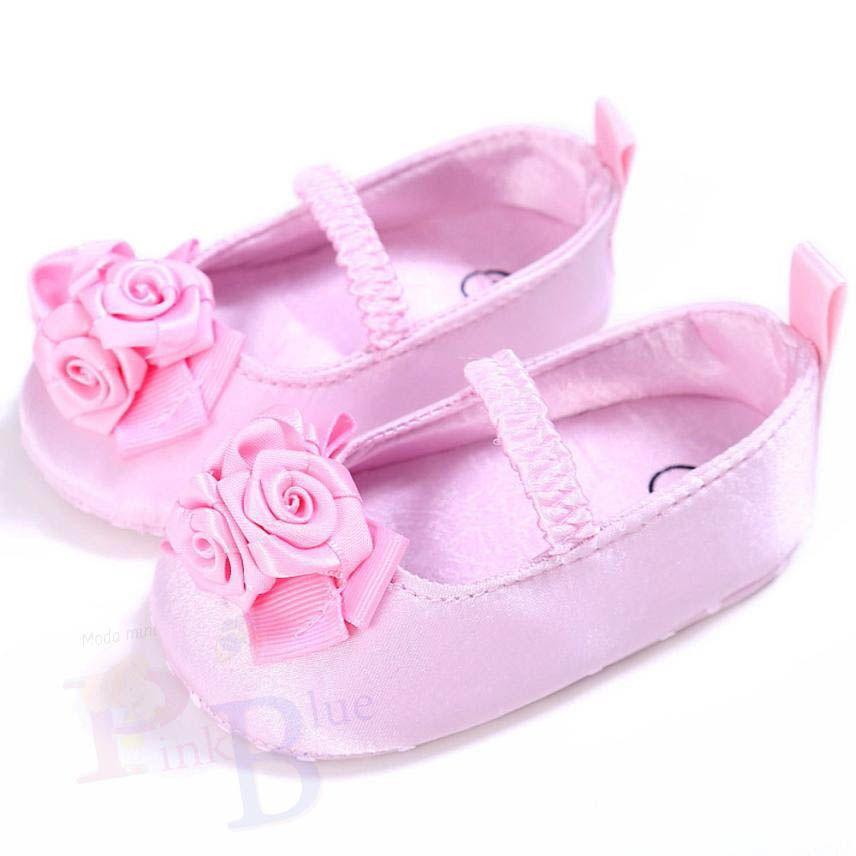 Sapatilha boneca com rosas Yara