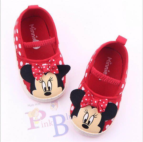 Sapato Sapatilha Minnie