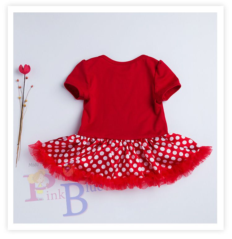 Vestido body Minnie
