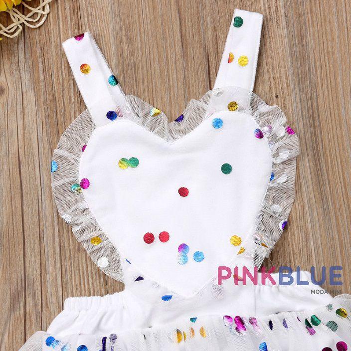 Vestido romper confete