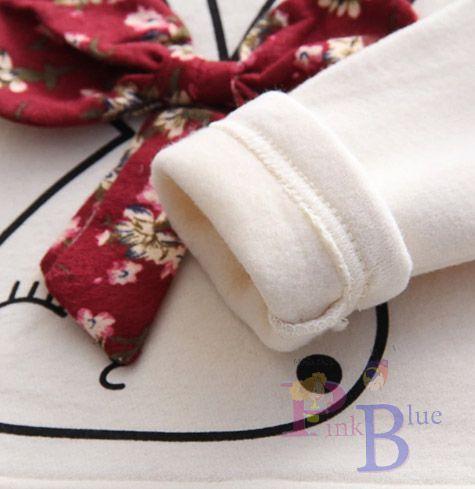 Vestido em moletinho e algodão