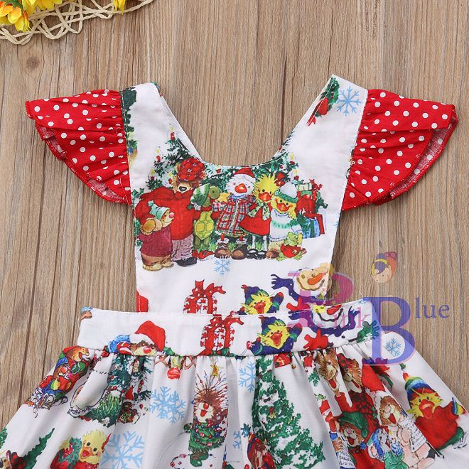 Vestido jardineira Natal Encantado