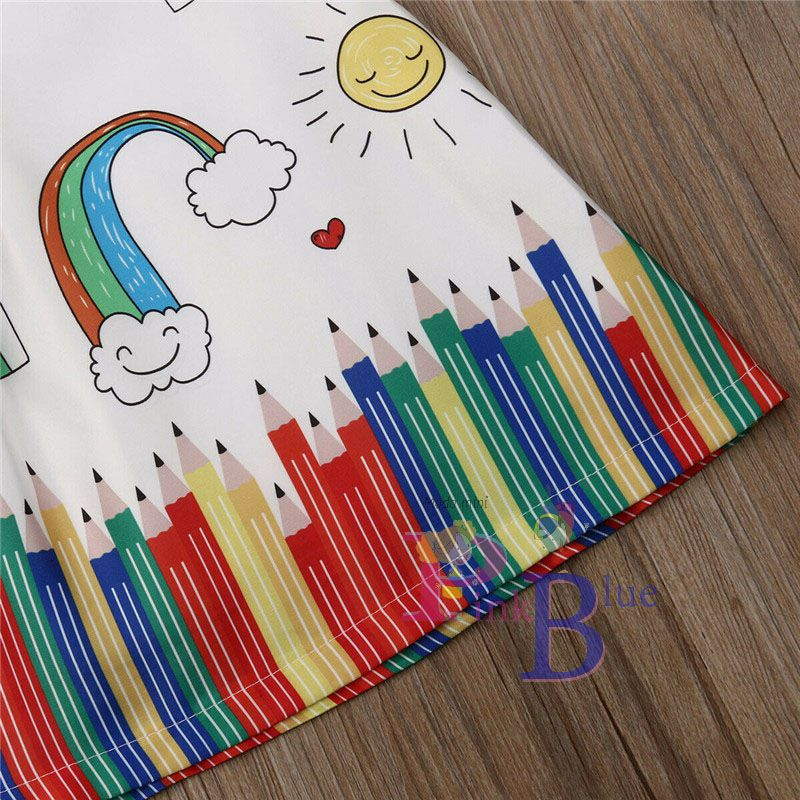 Vestido lápis de cor