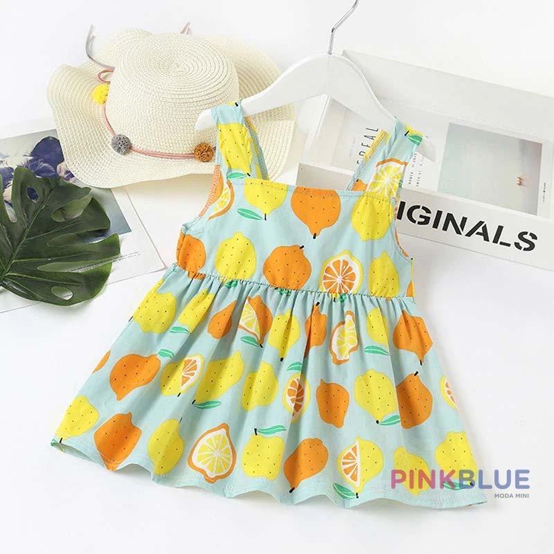 Vestido lima limão