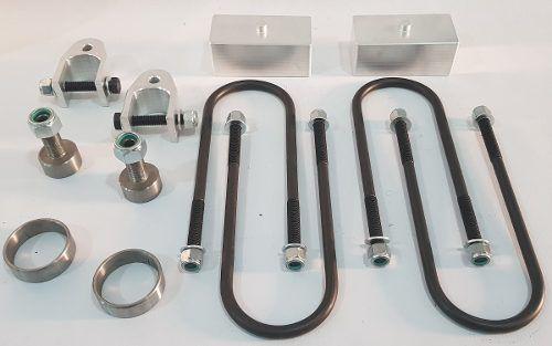 Kit Lift Total Dianteiro / Traseiro 2 Polegadas VW Amarok