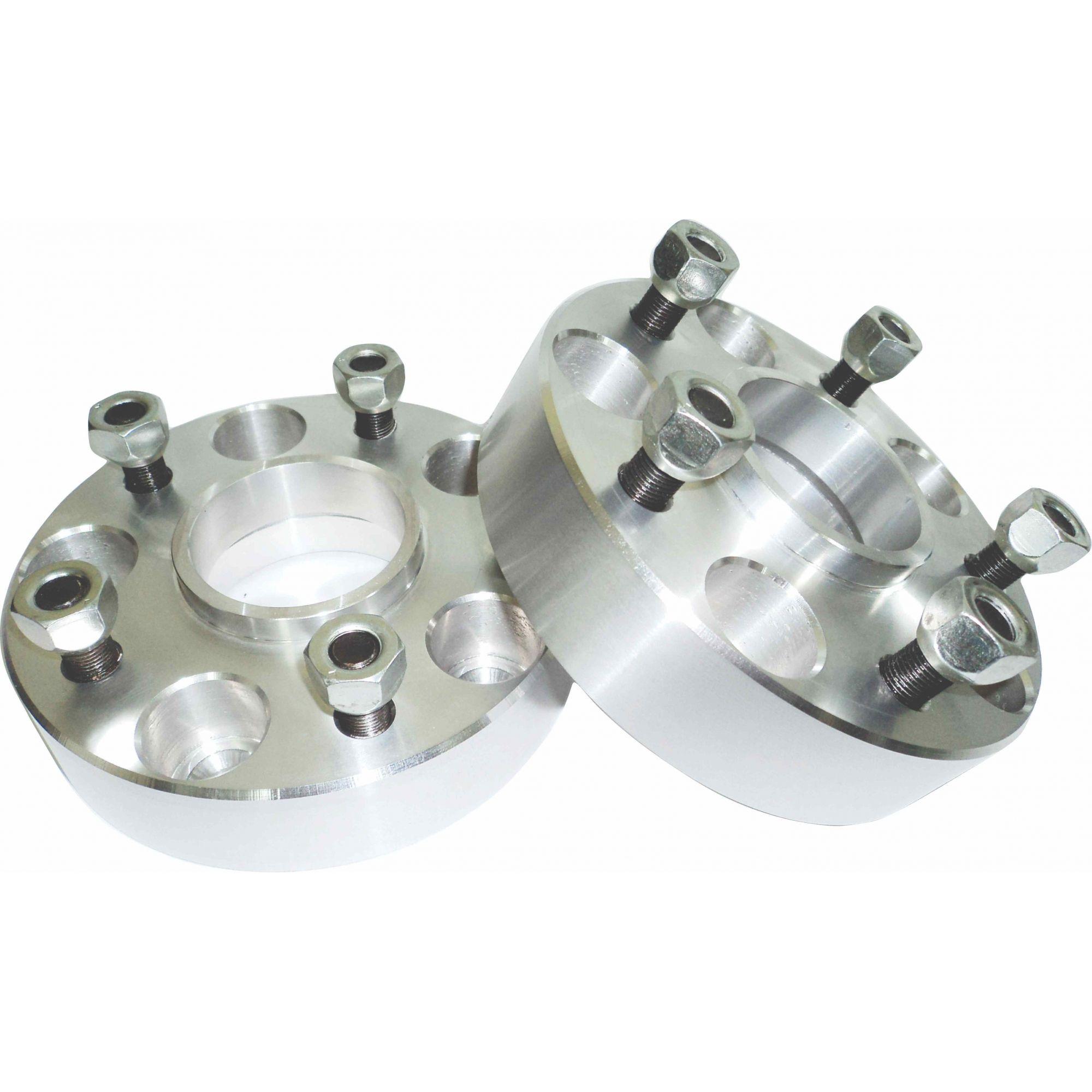 Espaçador / Alargador de Rodas para Toyota Hilux 4x2 5 Furos em Alumínio