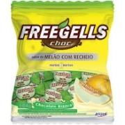BALA FREEGELLS MELÃO COM CHOCOLATE BRANCO 584G