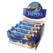 CHOCOLATE COM WAFER TRENTO RECHEIO CREME C/16 - PECCIN
