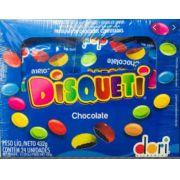 DISQUETI CHOCOLATE COM 24 UNIDADES 18 GRAMAS