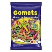 GOMETS DORI MINHOCAS ÁCIDAS 600GR.