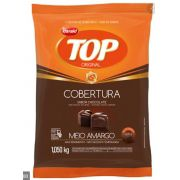 GOTAS DE CHOCOLATE FRACIONADO TOP MEIO AMARGO 1,050KG - HARALD