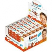 KINDER BARRA CHOCOLATE C/24