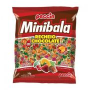 MINI BALA CHOCOLATE C/300 540GR - PECCIN