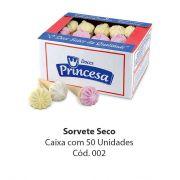 SORVETE SECO C/50 - PRINCESA