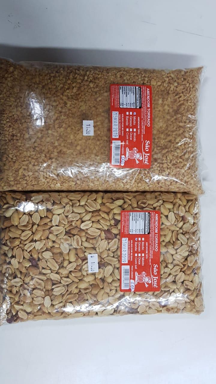 Amendoim sem casca torrado 1 kg - SEM SAL