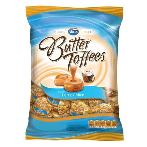 BALA BUTTER TOFFEES  LEITE 500G