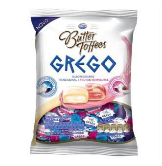 BALA BUTTER TOFFEES GREGO SORTIDO 600G