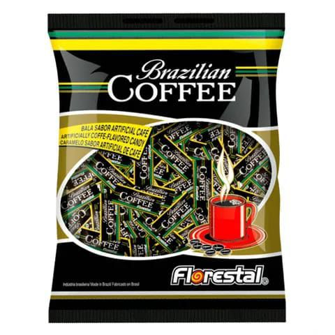BALA CAFÉ BRAZILIAN COFFEE 500G FLORESTAL