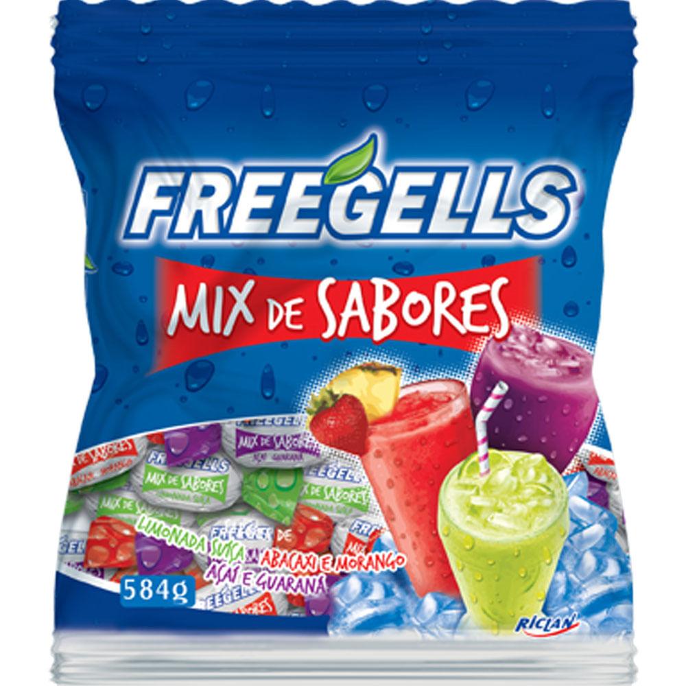 BALA FREEGELLS MIX DE SABOR 584G