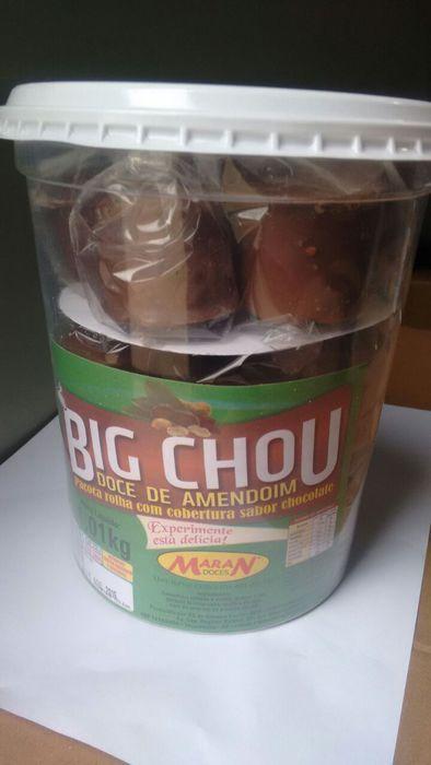 BIG CHOU ROLHA C/CHOCOLATE C/20 EMABALADO- MARAN
