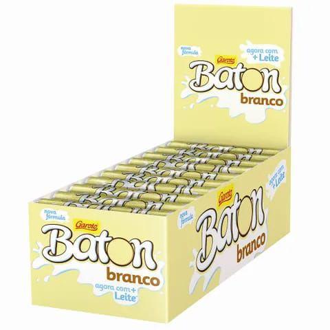 BATON BRANCO C30 - GAROTO