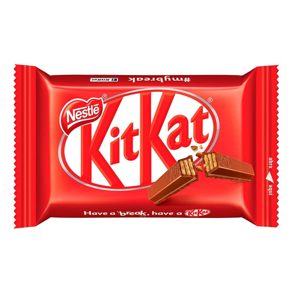 CHOCOLATE KIT KAT AO LEITE 41,5G C/24UN - NESTLÉ