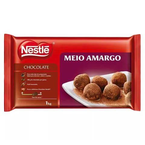CHOCOLATE NESTLE MEIO AMARGO 1 KG