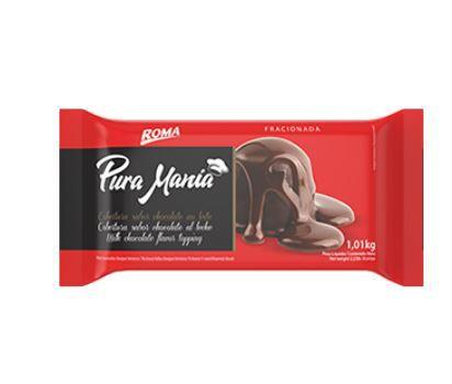 CHOCOLATE PURA MANIA AO LEITE 1,01KG