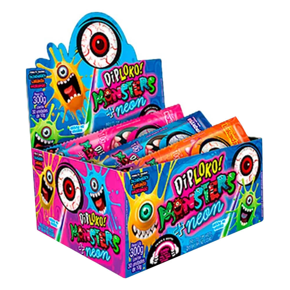 DIP LOKO NEON MONSTERS C/30