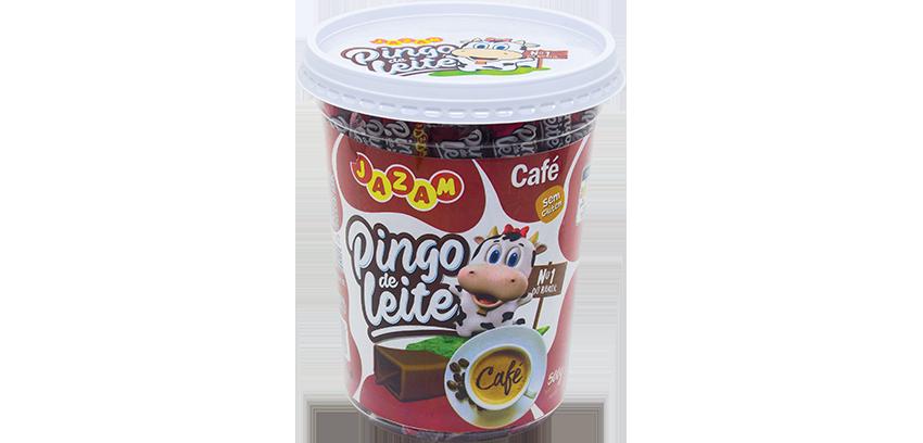 DOCE PINGO DE LEITE CAFÉ COM 50 UNIDADES - JAZAM