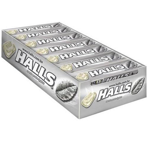 DROPS HALLS MENTA PRATA C/21 - ADAMS