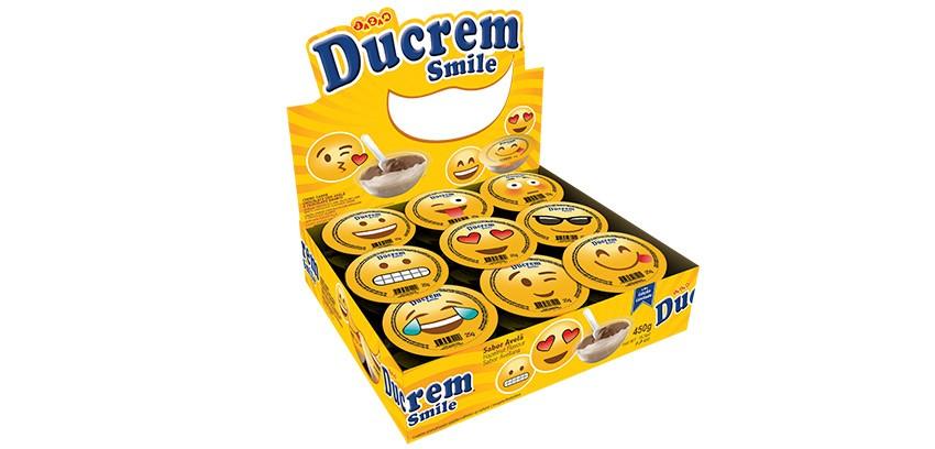 DUCREM SMILE AVELÃ C/18 450GR - JAZAM
