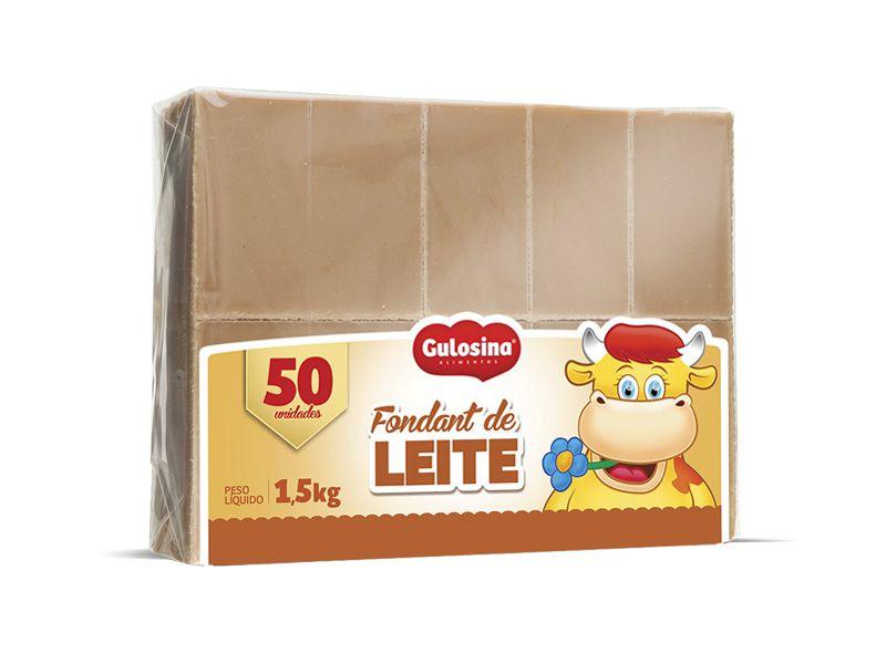 FOUNDANT DOCE DE LEITE 1,5KG C/50 - GULOSINA