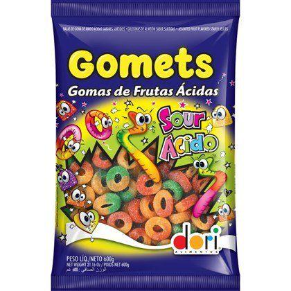 GOMETS DORI  ANEL DE FRUTAS ÁCIDAS 600GR