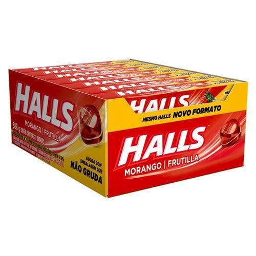 HALLS MORANGO C/21 - ADAMS