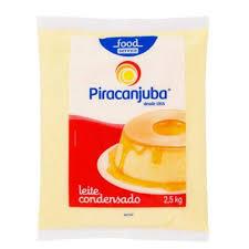 LEITE CONDENSADO PIRACANJUBA 2,5KG