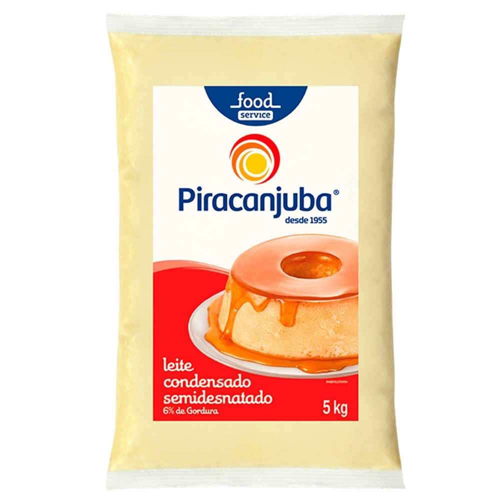 LEITE CONDENSADO PIRACANJUBA 5KG