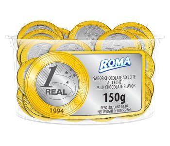 MOEDA POTE ROMA 150GR