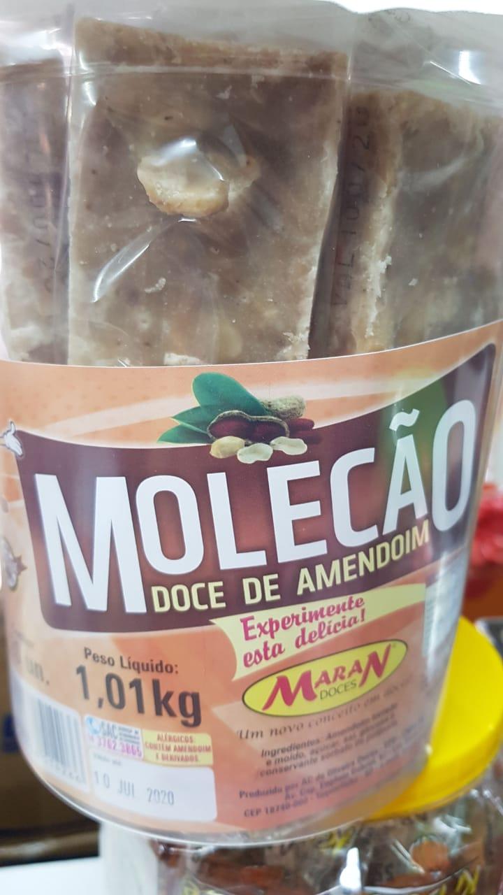 MOLECÃO DOCE DE AMENDOIM EMBALADO C/20 1,01KG - MARAN